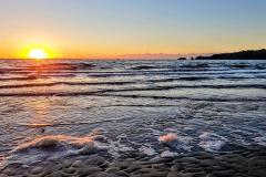 saundersfoot-sunset