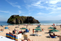 Tenby-Castle-Beach